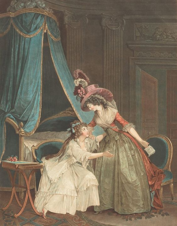 Jean-François Janinet~L'Indiscretion - Classical art