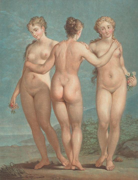 Jean-François Janinet~Les trois grac - Classical art