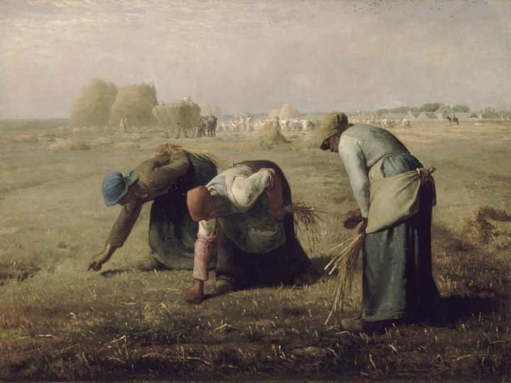 Jean-François Millet~Gleaners - Classical art
