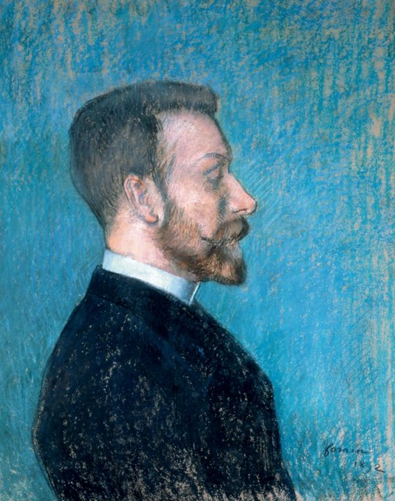Jean-Louis Forain~Portrait of a Man, - Classical art