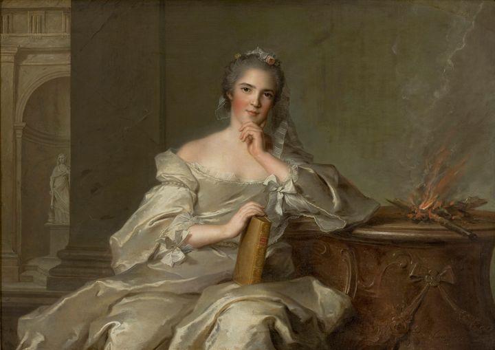 Jean-Marc Nattier~Madame Anne-Henrie - Classical art
