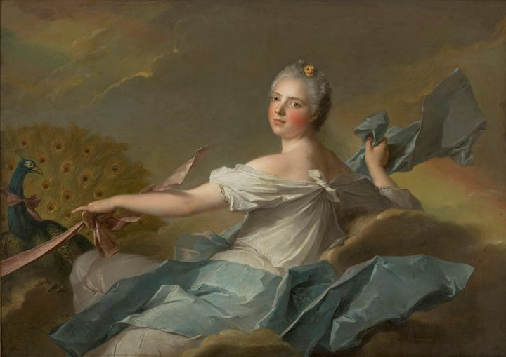 Jean-Marc Nattier~Madame Marie-Adéla - Classical art