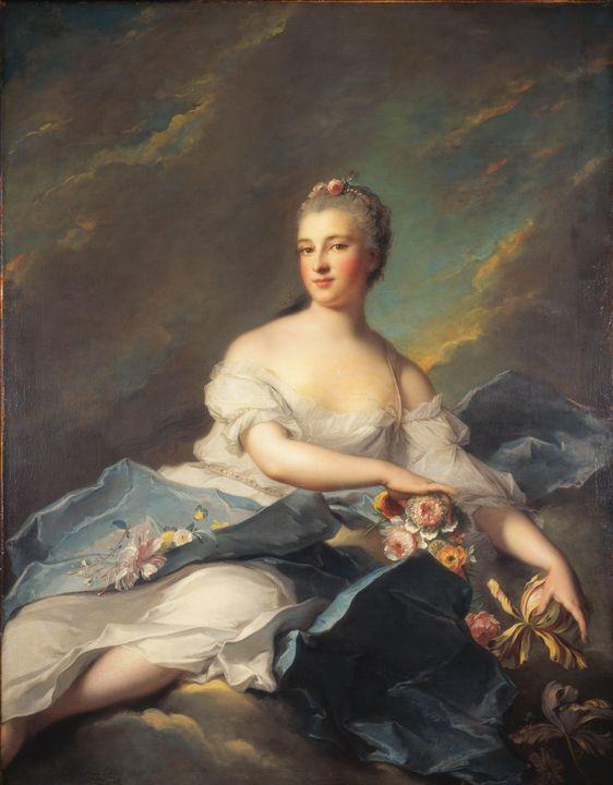 Jean-Marc Nattier~Élisabeth Rigoley - Classical art