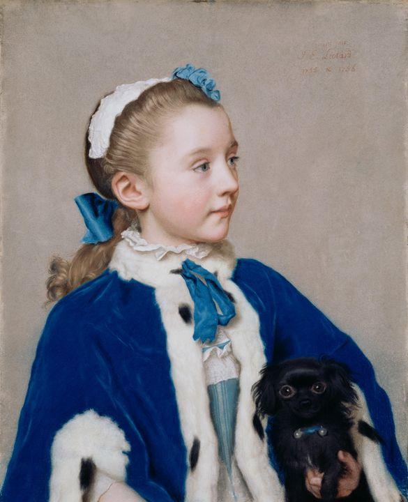 Jean-Étienne Liotard~Maria Frederike - Classical art
