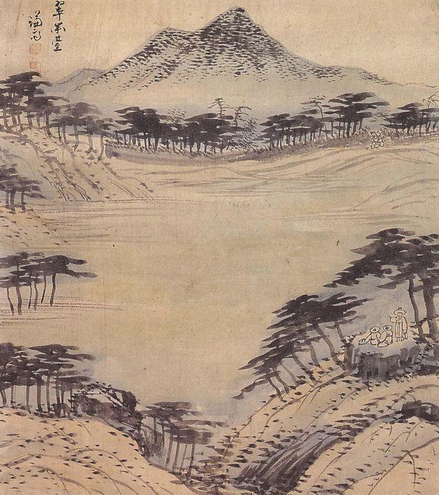 Jeong Seon~Chwimidae Cliff - Classical art