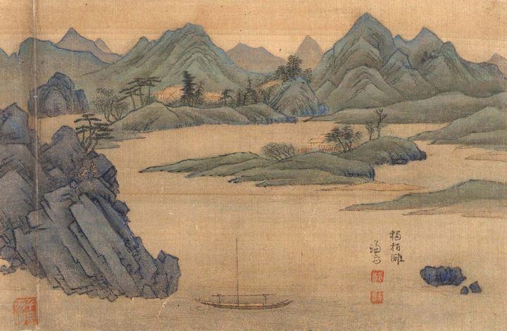 Jeong Seon~Dokbaektan - Classical art