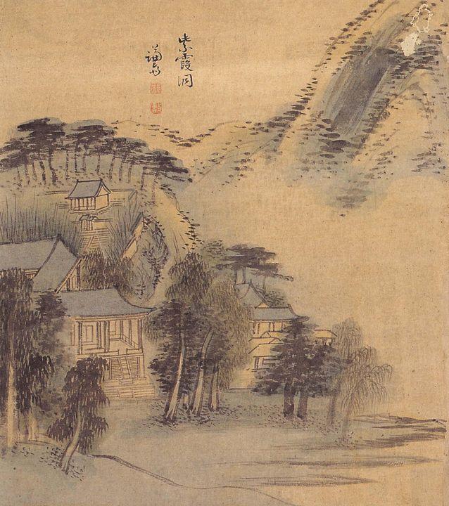 Jeong Seon~Jahadong (name of place) - Classical art
