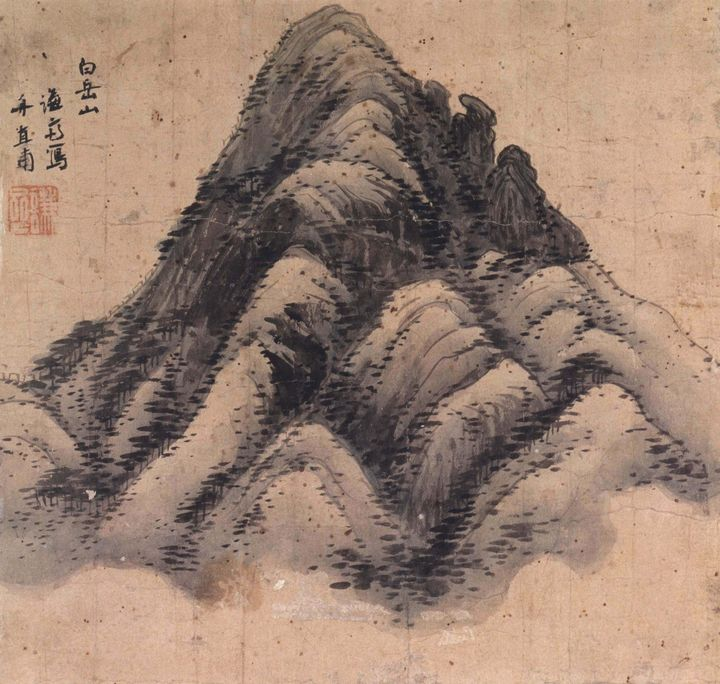 Jeong Seon~Mt. Baegaksan - Classical art