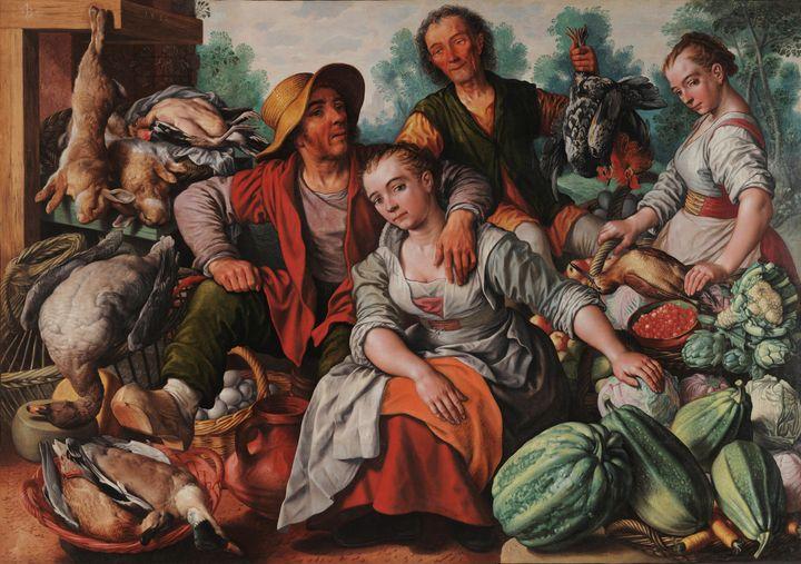 Joachim Beuckelaer~The Country Marke - Classical art