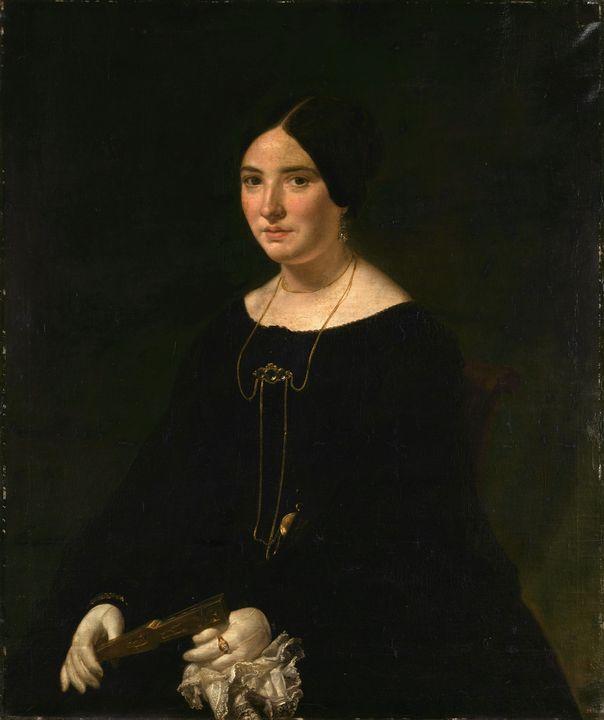 Joaquín Espalter y Rull~Female portr - Classical art