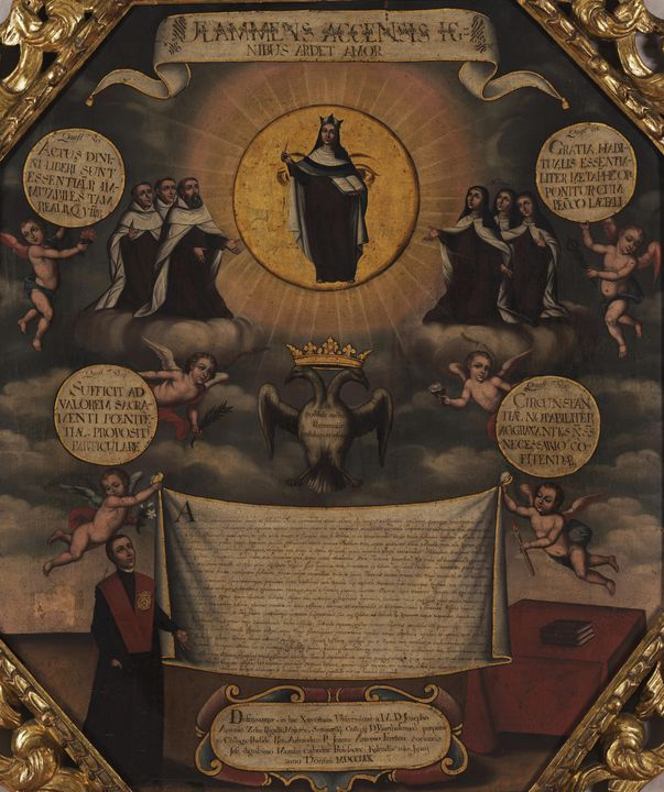 Joaquín Gutiérrez~Defense of Doctora - Classical art