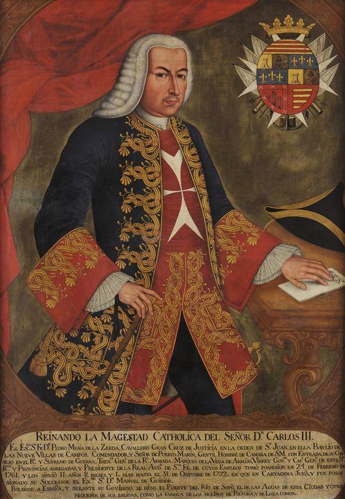 Joaquín Gutiérrez~Pedro Messia de la - Classical art