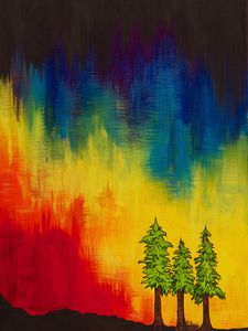 Rainbow Redwoods