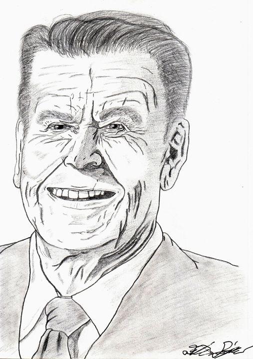 President Reagan - D.M.Simpson