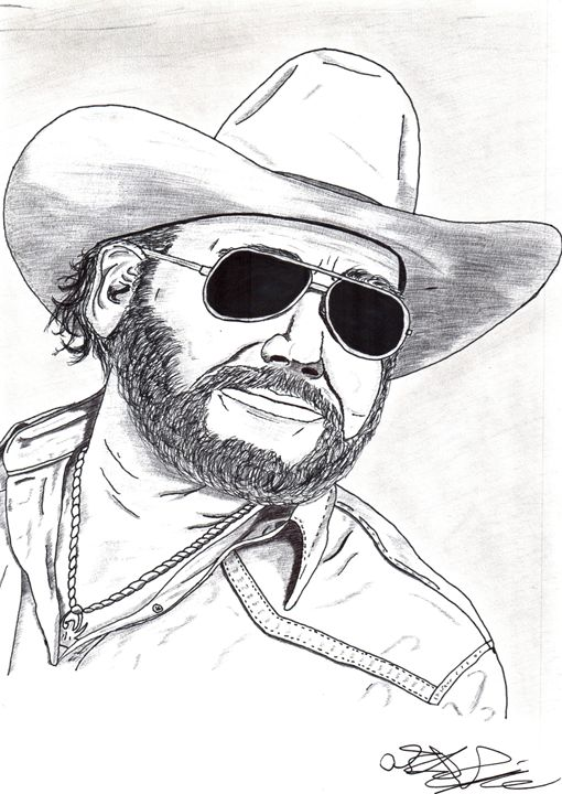 Hank Williams Jr. - D.M.Simpson