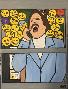 Glass Case of Emojis