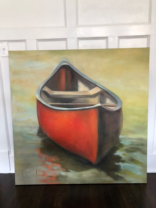 Boat on water - Andre Costa