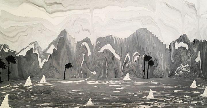Sail La Vie - Abstract Accents