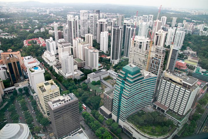 Aerial view of singapore City - Alvin Wong Photography Gallery