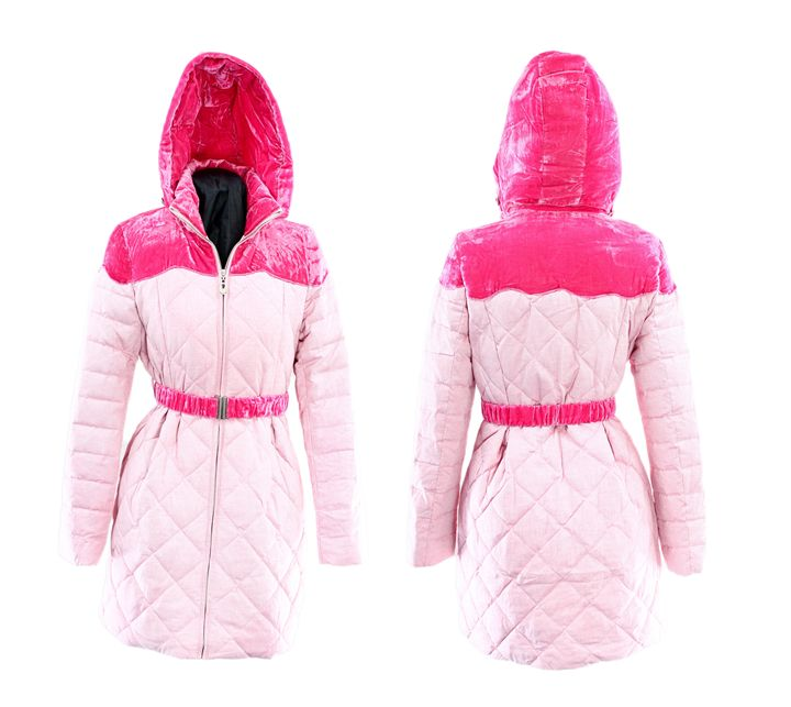 Pink hooded jacket - Alvin Wong Photography Gallery