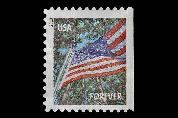USA postage stamp - Alvin Wong Photography Gallery