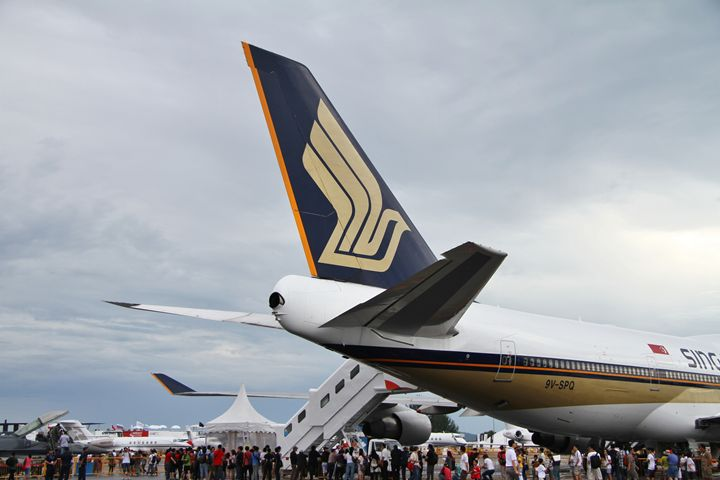 Boeing 747-400 Empennage - Alvin Wong Photography Gallery