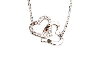 Sparkling diamond necklace