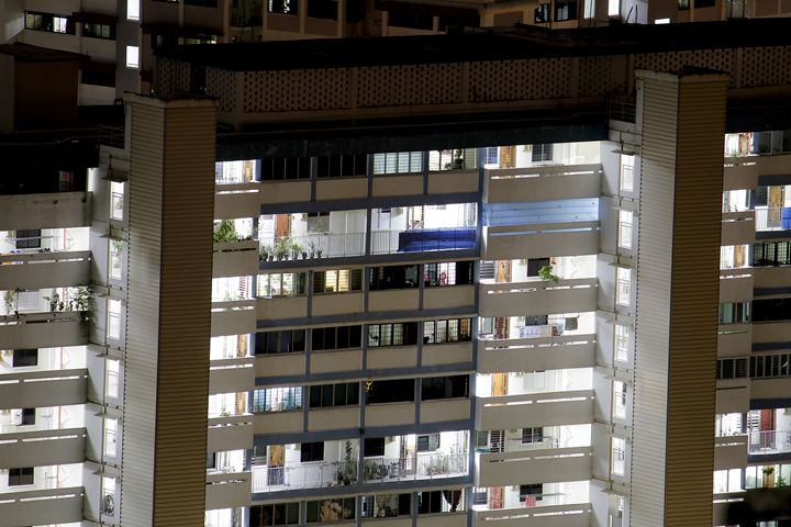 Close-up of an apartment complex - Alvin Wong Photography Gallery