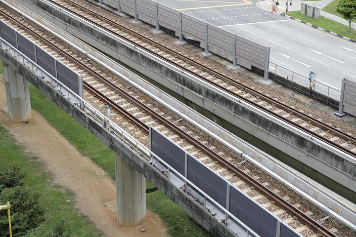 Singapore MRT Tracks - Alvin Wong Photography Gallery