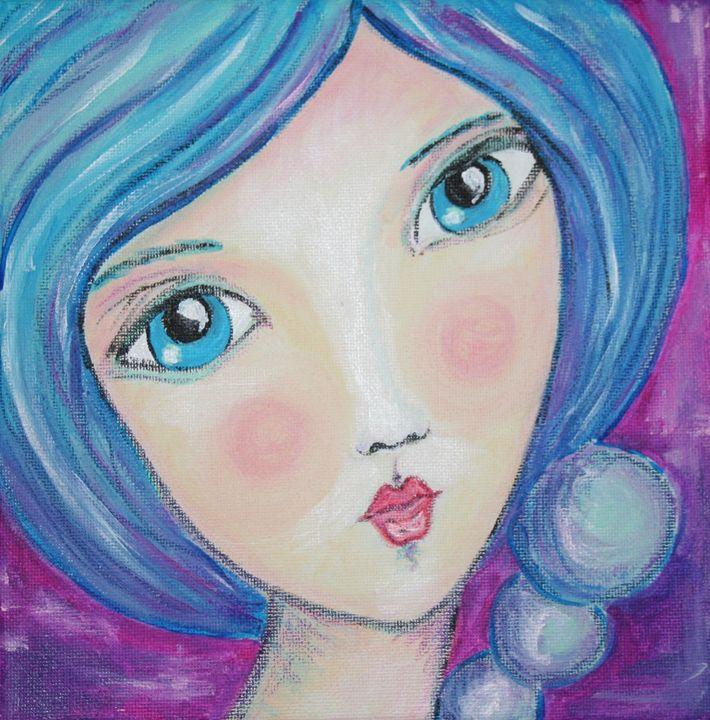 Miss Blueberry Bubbles - It's My Art