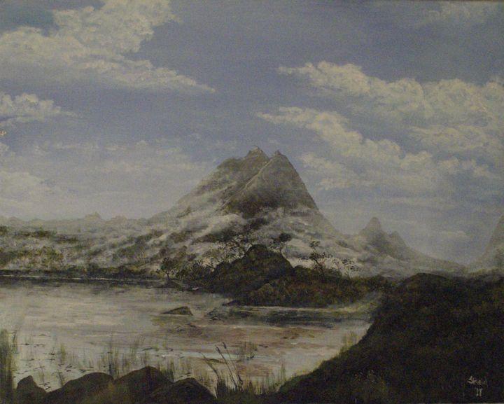 Misty Mountains - Stephen Reid Studio