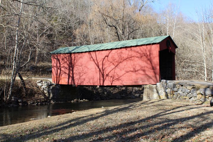 Covered Bridge (Parisburg VA) - J.T. Arts