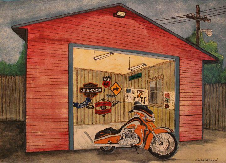 touring bike - J.T. Arts
