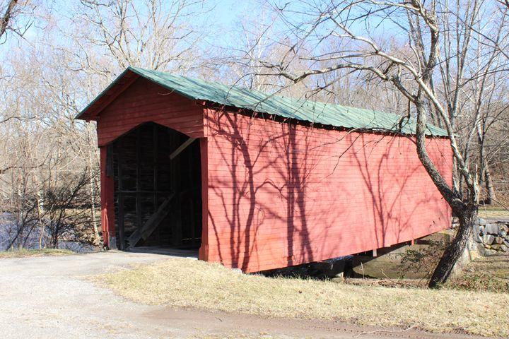 Covered Bridge in Parisburg VA - J.T. Arts