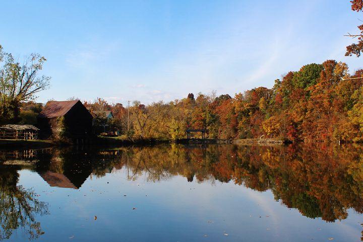 Reflections on Peak Creek  Pulaski V - J.T. Arts