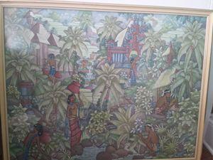 Balinese Signed Painting I W Parsa