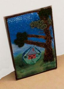 little house on the prairie art - sylvia