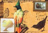 art print postcard