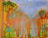 art postcard