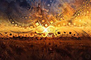 Golden Elysian Fields of Infinity