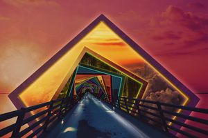 Rainbow Bridge of a Thousand Colors
