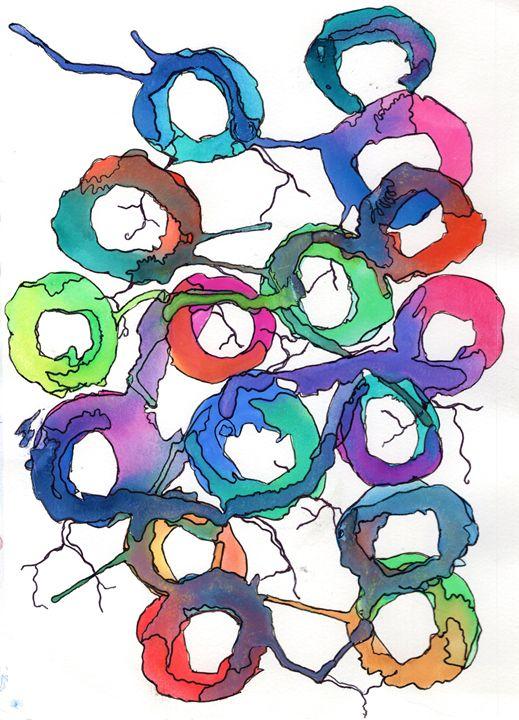 Watercolor Wheel - The Crafty Artist