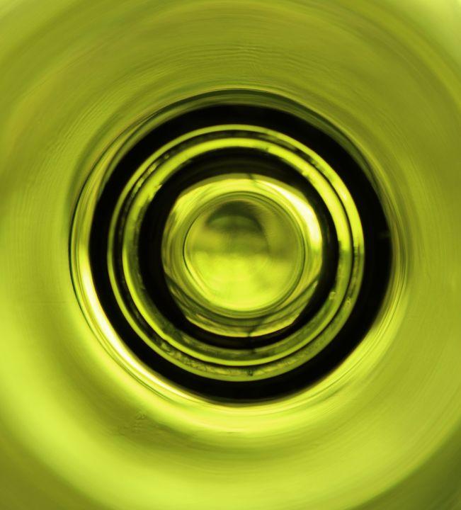 Green Glass 7151 - 50m30n3-3153