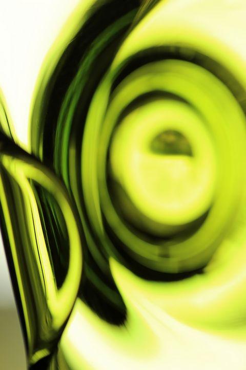 Green Glass Reflection - 50m30n3-3153