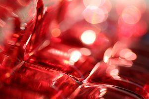 Red Glass Corner 3152
