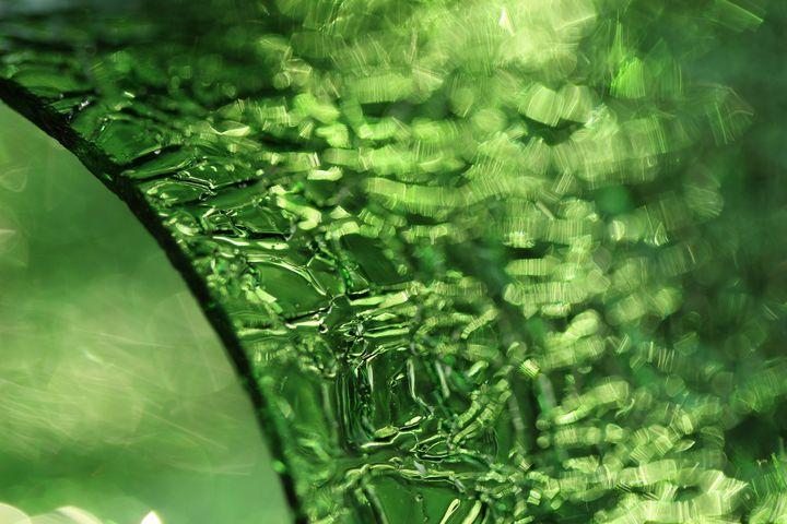 Edge Green Glass 3358 - 50m30n3-3153