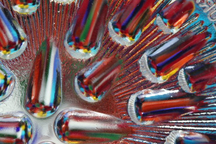 Glass Rainbow Tears - 50m30n3-3153