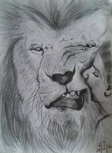 Beauty kissing The Beast...
