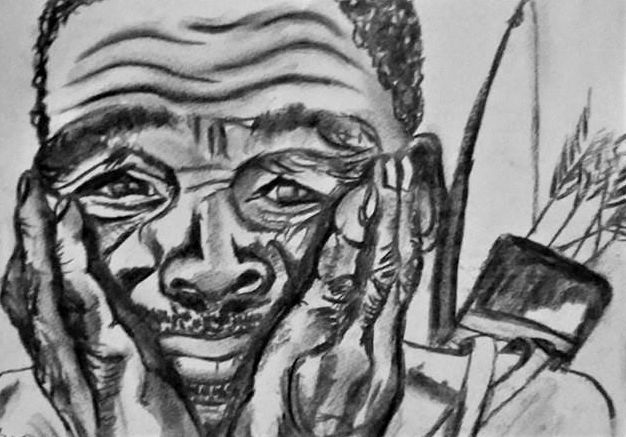 The Despondent Bushman... - G's Art and Crafts