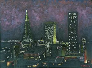 """San Francisco At Night"""